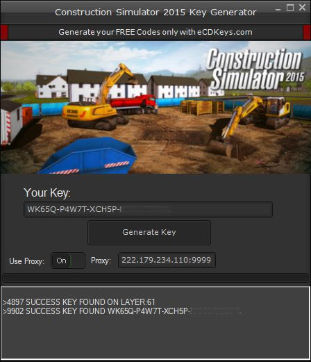 Construction Simulator 2015 cd-key