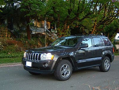 About the 2005 Jeep Grand Cherokee Limited with a Hemi Engine: Journey's End