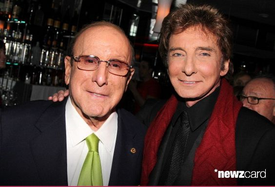Clive Davis and Barry Manilow attend the after party for the 'Manilow On Broadway' opening night at the Copacabana on January 29, 2013 in New York City.  (Photo by Bruce Glikas/FilmMagic)