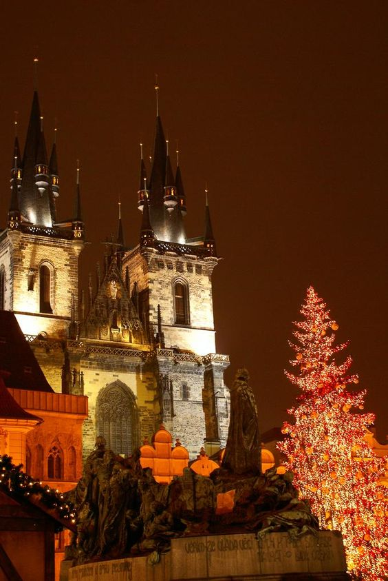 Prague Christmas Square