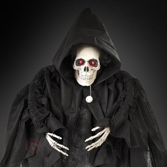 Sei besser froh, dass dieser #Sensenmann seine Sense nicht dabei hat - und deshalb ganz friedlich mit dir #Halloween feiert!