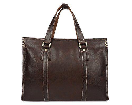 Color : Black, Size : L DAYIYANG Special Design Mens Business Briefcase Leather Shoulder Bag Casual Handbag