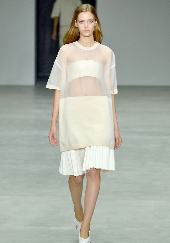 Transparence - Calvin Klein: