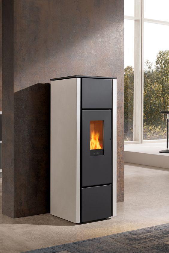 Pelletofen Für Wohnzimmer. palazzetti ariel #wood #burning #stove ...