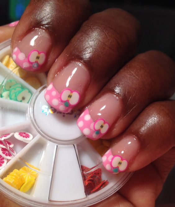 Fruit Fimo Nail Art: