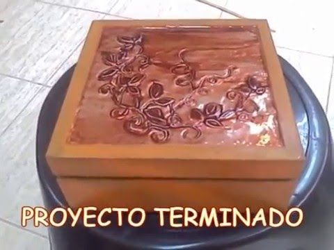 Decoración de objetos con aluminio. - YouTube