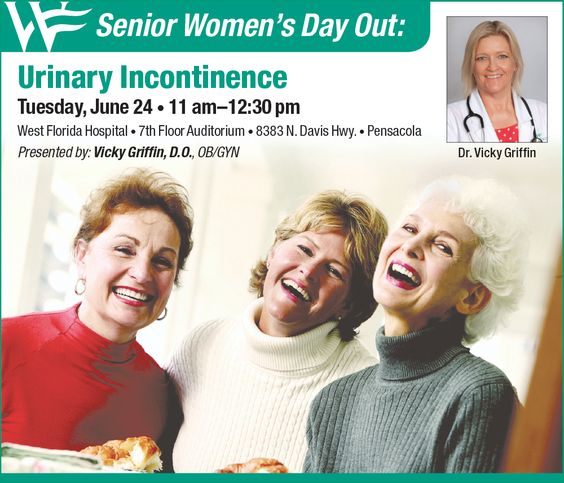 """West Florida Healthcare will present """"Senior Women's Day Out,"""" on Tuesday, June 24 from 11 a.m. – 12:30 p.m. in the hospital's 7th Floor Auditorium, 8383 N. Davis Highway in Pensacola."""