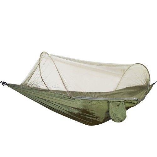 Camping Hammocks Mosquito Net Outdoor Parachute Portable Sleeping