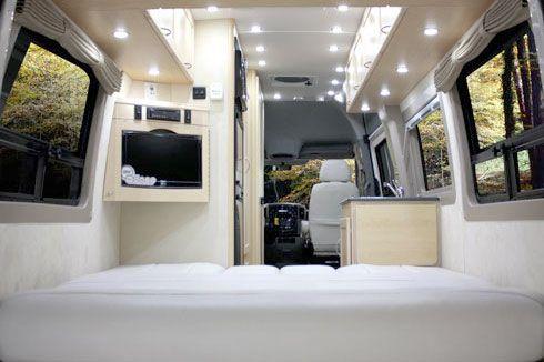 Pleasure-Way Industries: The Mercedes Plateau Class B Motorhome