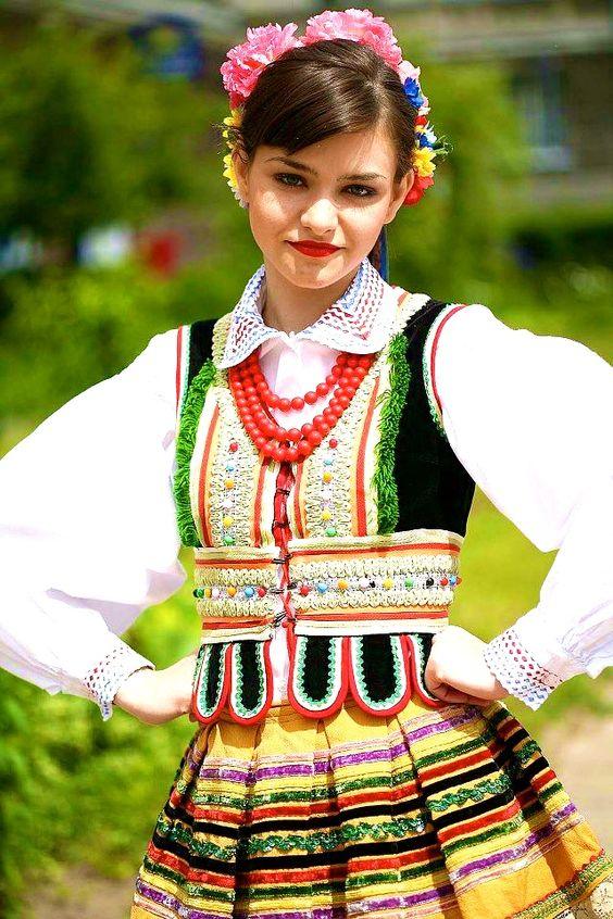 Любинска народна носия - Полша.