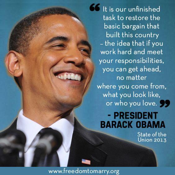 freedom to marry . barack obama