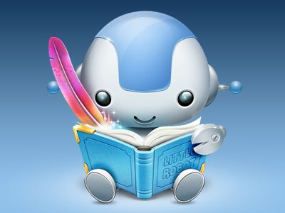 Hey kids! Just finished a new OSX Icon for children's book authoring tool called