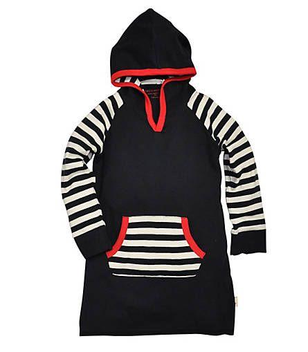 Colorblock Dress: Color - Onyx