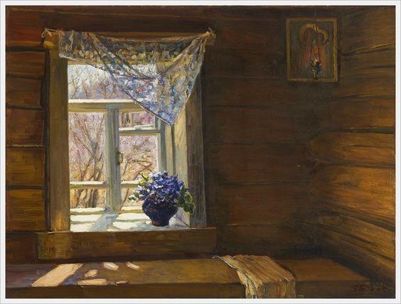 Чайников Григорий Леонтьевич (Россия, 1960-2008) «Весна» 2007