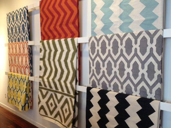 interior design fabrics - Material girls, Design blogs and Interior design blogs on Pinterest