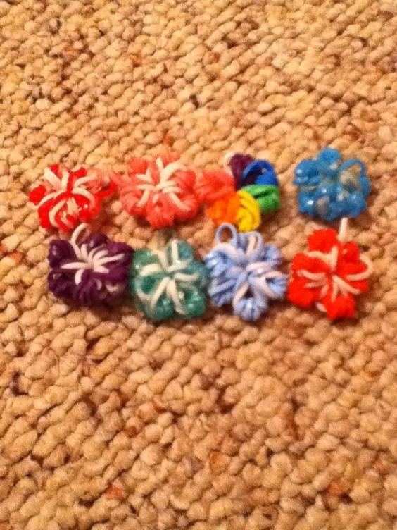 how to make a rainbow loom heart charm without loom