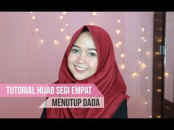 Tutorial Hijab Segi Empat Rawis Menutup Dada Id Lif Co Id
