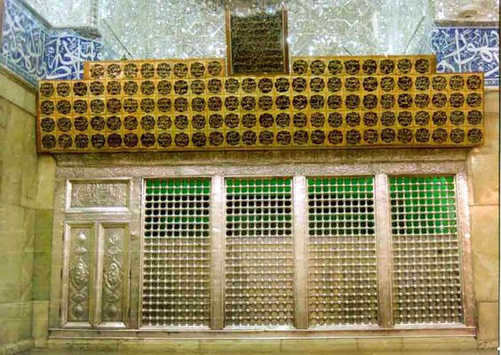 View of the Ganj-e-Shuhada where the bodies of most of the martyrs of Karbala were buried by Imam Zain-ul-Abideen(a.s.)