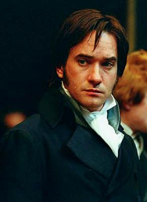 Mr Darcy, I just love his blue jacket and his whole outfit here. Very gentlemanly and dignified.: