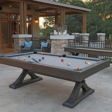 Kariba Collection Pool Table Dining Table Billiard Pool Table Dining Room Pool Table
