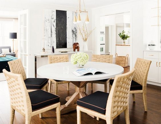 The Best Way to Add Style to Any Dining Space via @domainehome