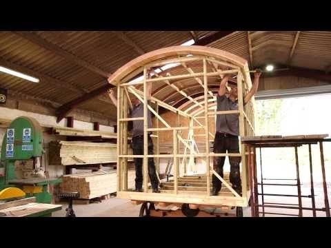 How to build a blackdown shepherd hut eco cabins cob for A frame hut plans