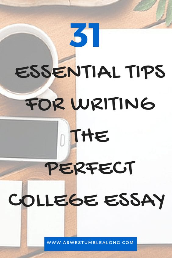The only essay post you'll ever need! Pin now, read later. #College essays don't have to be scary! Here's every tip you'll ever need, step by step, for the perfect paper!