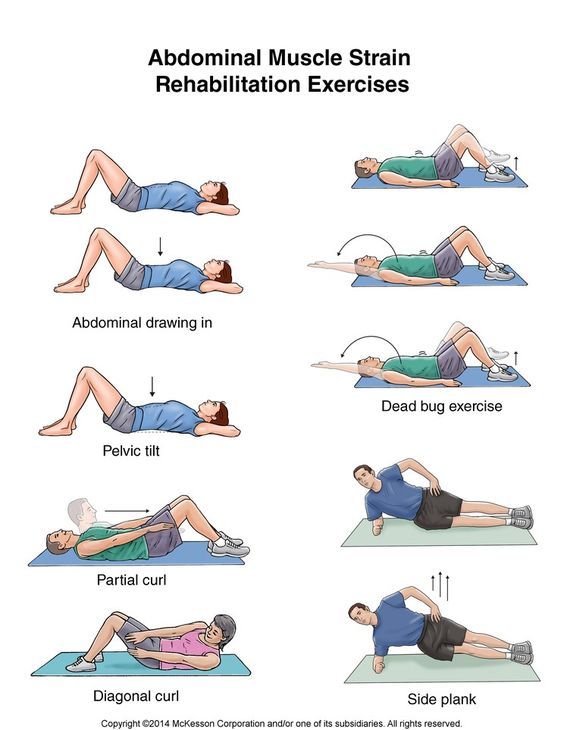 Summit Medical Group - Abdominal Muscle Strain Exercises