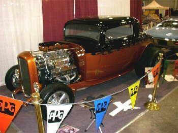 "HotRod HotLine ~ Frank Marratta's ""Auto Cycle Show of Dreams 2004"" ~ February 2004"