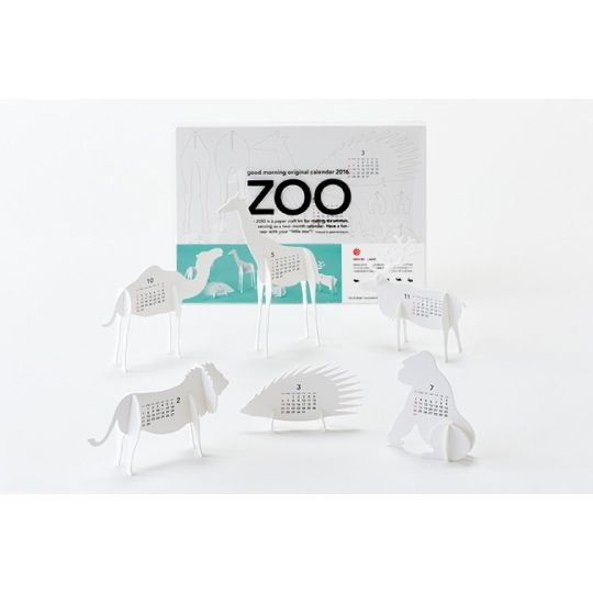 Image of Zoo Calendar 2016