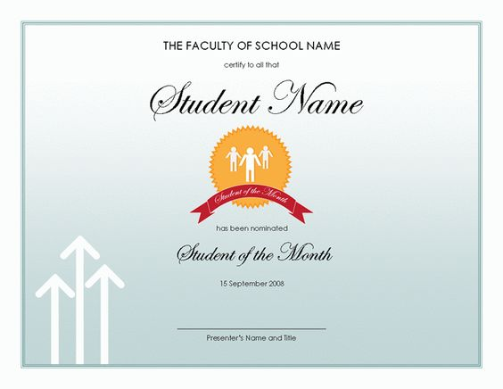language of instruction certificate