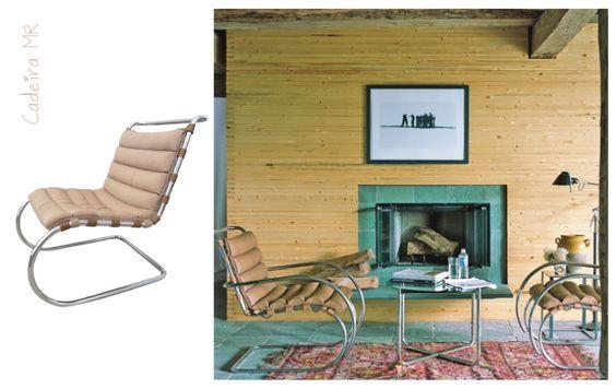 Cadeira MR - Mies Van Der Rohe #mies #design #chair #casadasamigas