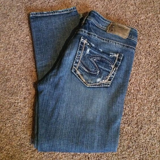 Silver Carpi size 28 | Silver Jeans, Jeans Size and Jean Jean