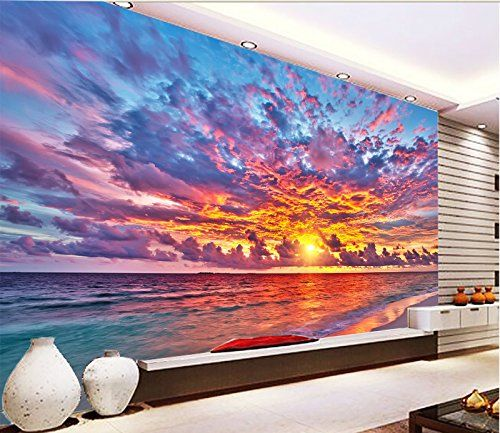 3d Beautiful Sunset Sky 531 Wall Paper Wall Print Decal Wall Deco Indoor Wall Murals Removable Wall Mural Self Adhe Wall Murals Mural Wallpaper Mural