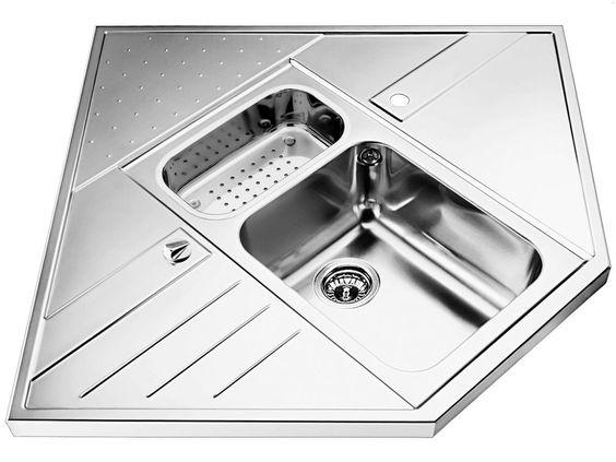 Blanco Axis 9 E-M Einbauspüle Edelstahl Spültisch Küchen-Spüle Auflagebecken