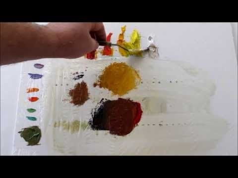 ▶ How to Mix Colors:Oil Painting, How to Mix Browns - YouTube