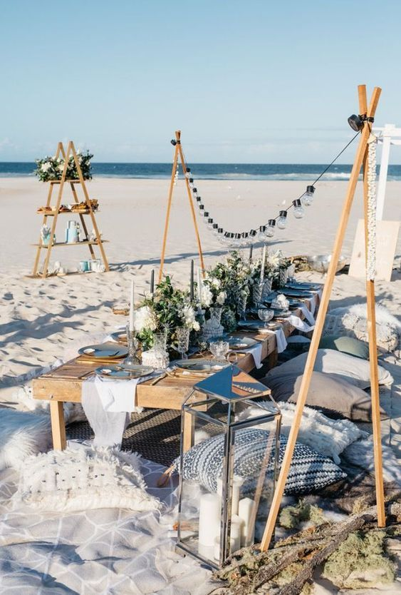 Have The Coolest Beach Party With Your Hencely Beach Towels Peshtemals Beach Birthday Party Beach Dinner Beach Picnic