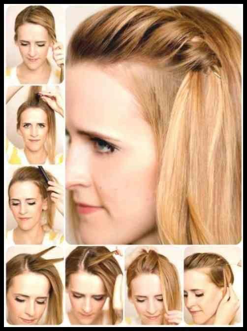 Festival Frisuren Selber Machen Anleitung Kurze Haare Bob Half Up In Mittellange Haare Frisuren Einfach Schone Frisuren Kurze Haare Frisur Hochgesteckt