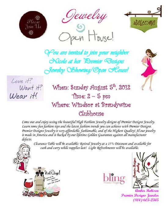 Jewelry Party Invite Idea Premier Designs Jewelry – Invite to the Party