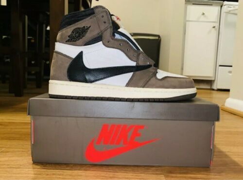 Nike Jordan 1 High Travis Scott Cactus Jack Size 9 5 Limited