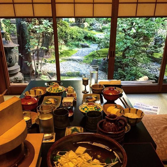Had an absolutely incredible stay at Yoshikawa Inn. It was a great Japanese experience from the service the rooms the bed the bath the garden and the amazing food. We had a crazy kaiseki spread and an amazing breakfast. #yoshikawainn #yoshikawatempura #kaiseki #japanesefood #japaneseinn #kyoto #roomwithaview #japanesegarden by calloke6