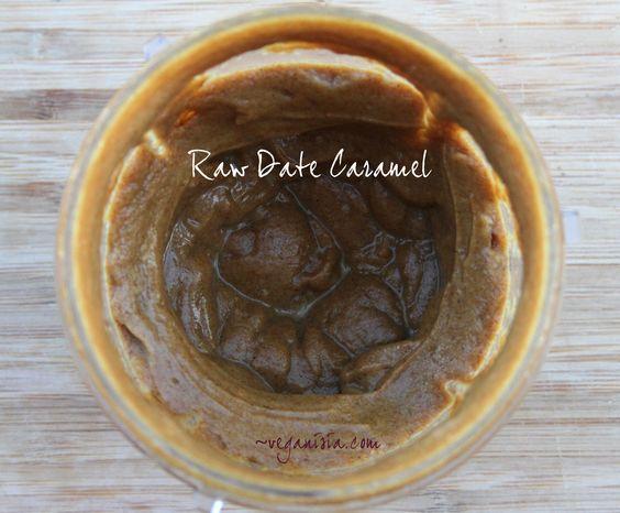 raw vegan date caramel