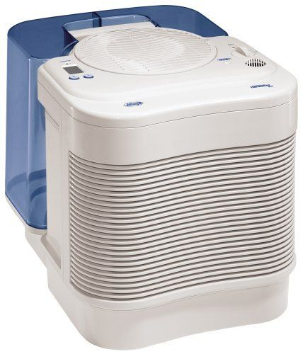 Hunter 3.5 Gallon CareFree Plus Humidifier with PermaWick Filter, 34357 by Hunter, http://www.amazon.com/dp/B000JWE7NK/ref=cm_sw_r_pi_dp_J0Jzqb17X2T51