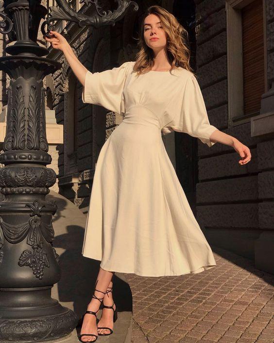 Open Back Maxi Dress  #dress #Beautiful_classy