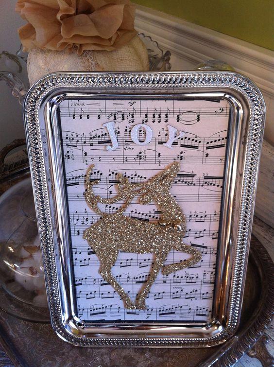 Dollar Tree Silver Tray Dollar Store Christmas Decorations Dollar Store Christmas Crafts Dollar Store Christmas