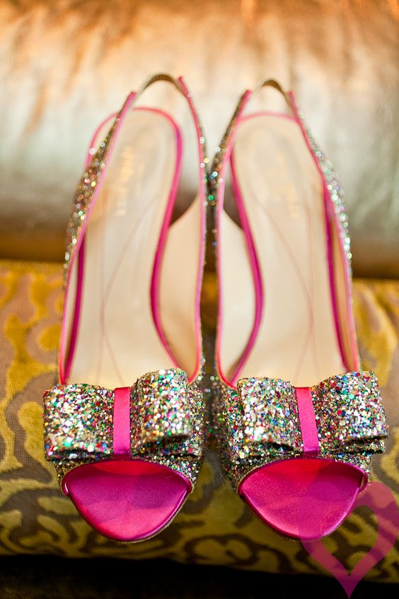 pink & sparkly. the best combination