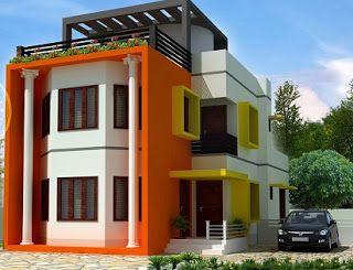 warna cat rumah yang membawa hoki warna cat rumah