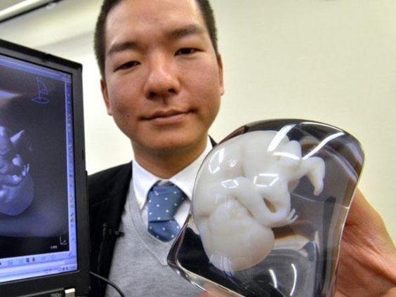 Una empresa crea fetos plásticos a escala