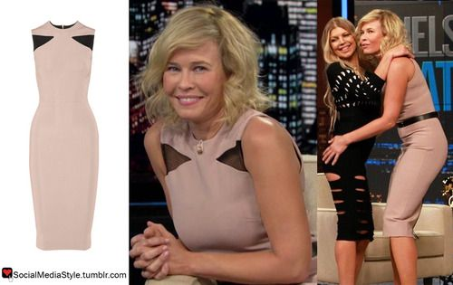 Buy Chelsea Handler's Chelsea Lately Mesh Inset Dress, here!