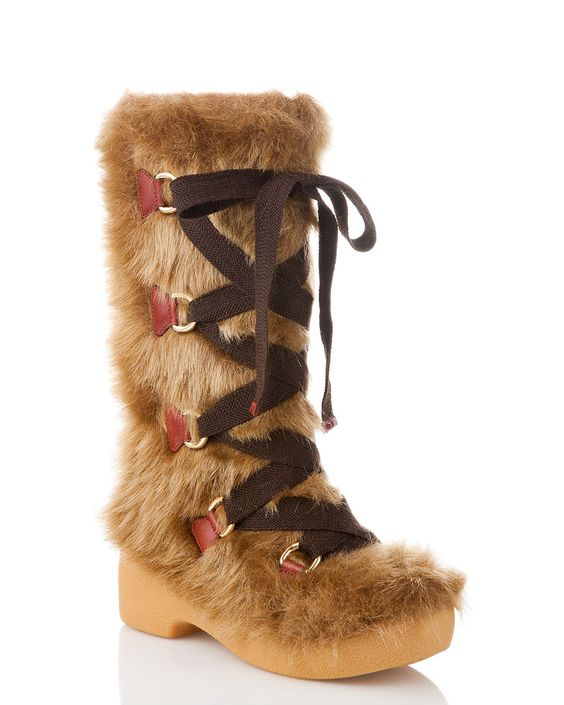"""Not sure if they are """"me"""" but they would be warm and fuzzy over skinny jeans"""